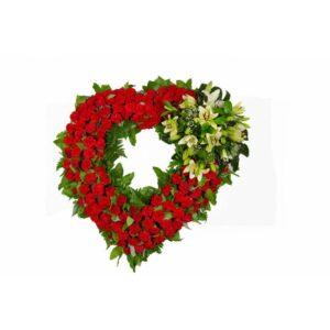 Coração de Flores Despedida