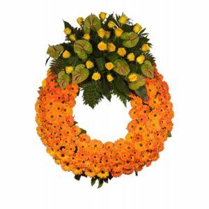 Coroa de Flores Inglesa