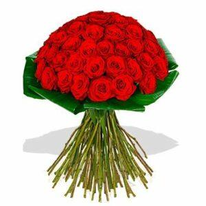 Bouquet de 50 Rosas Vermelhas