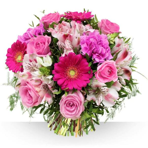 Bouquet de Flores Cor-de-rosa