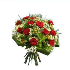 Bouquet de rosas com Vivas