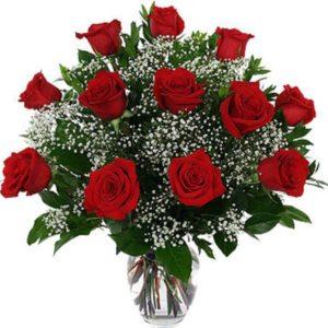 Jarra de rosas com Vivas