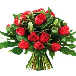 Bouquet de Tulipas Quente