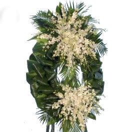 Coroa de Flores Homenagem de Amigos